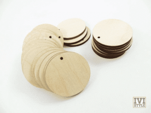 blank cerc din lemn
