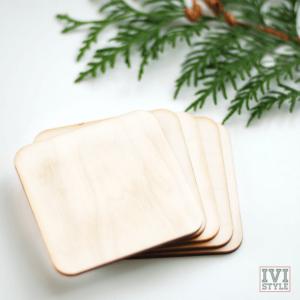 blank suport din lemn pentru pahare