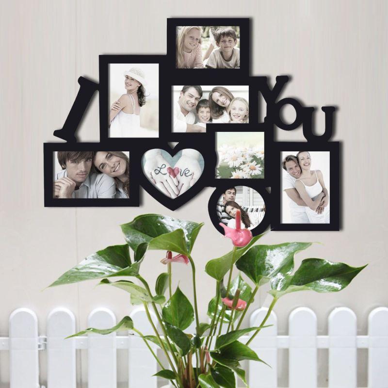 rama foto i love you cu 8 poze