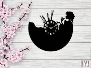 Ceas pentru Cosmetica , Make-up - din Lemn