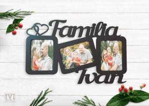 Rama Foto Personalizata Pentru Familie
