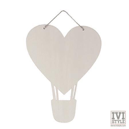 blank valentine's day inima balon aer