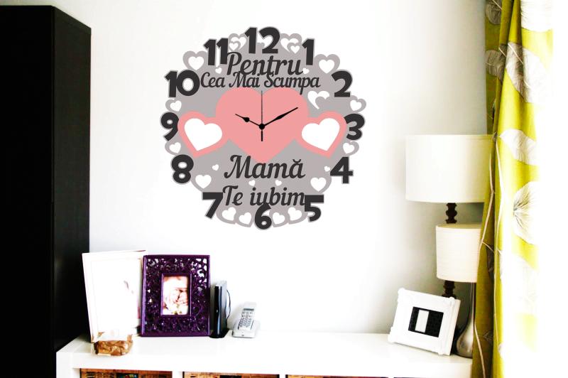 Ceas Personalizat pentru Mama cu Rame Foto