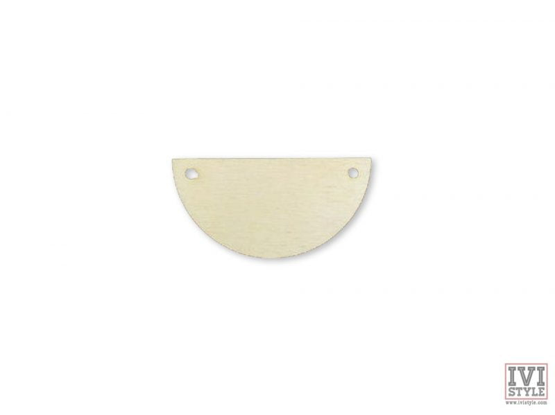 blank pandantiv lemn semicerc