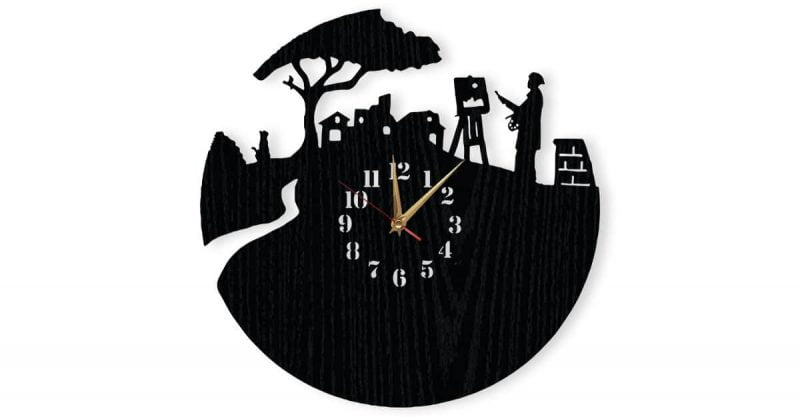 ceas-pictor-personalizat