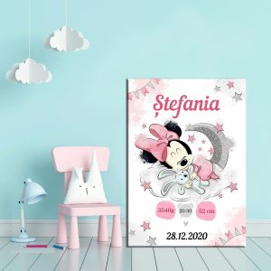 Tablou Canvas Personalizat Minnie 02