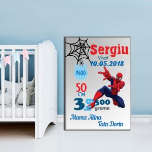 Tablou Canvas Personalizat Spiderman