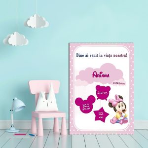 Tablou Canvas Personalizat Minnie 03