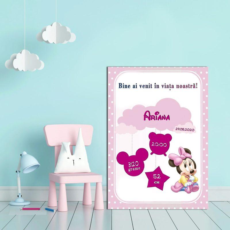 Tablou Canvas Personalizat Minnie 03