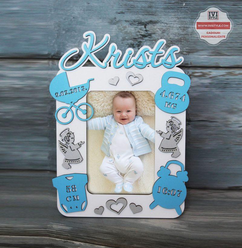 rama-foto-personalizata-bebe-ingerasi-cu-o-poza-baietei