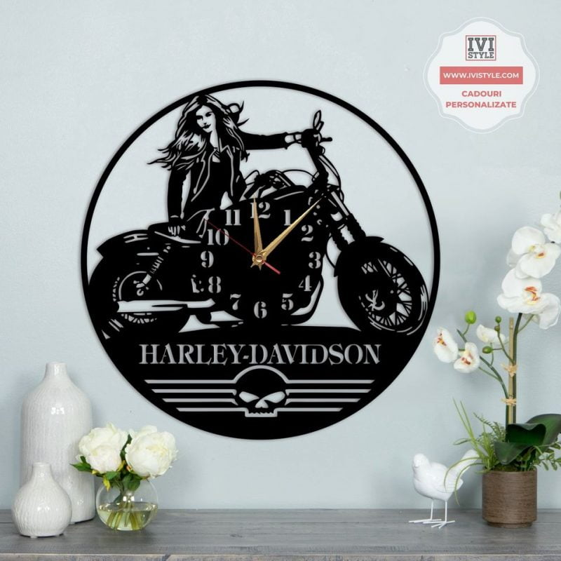 Ceas Motocicleta Harley Davidson