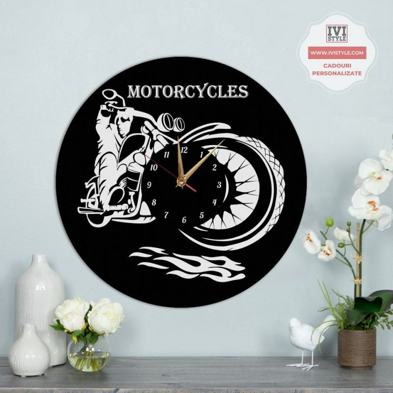 Ceas Personalizat Motociclete 01