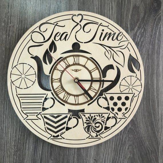 Ceas decorativ Ceai Tea Time