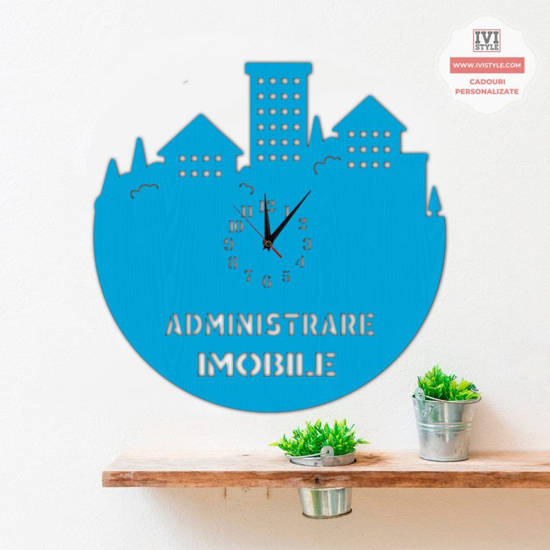Ceas Personalizat Administrare Imobile 02