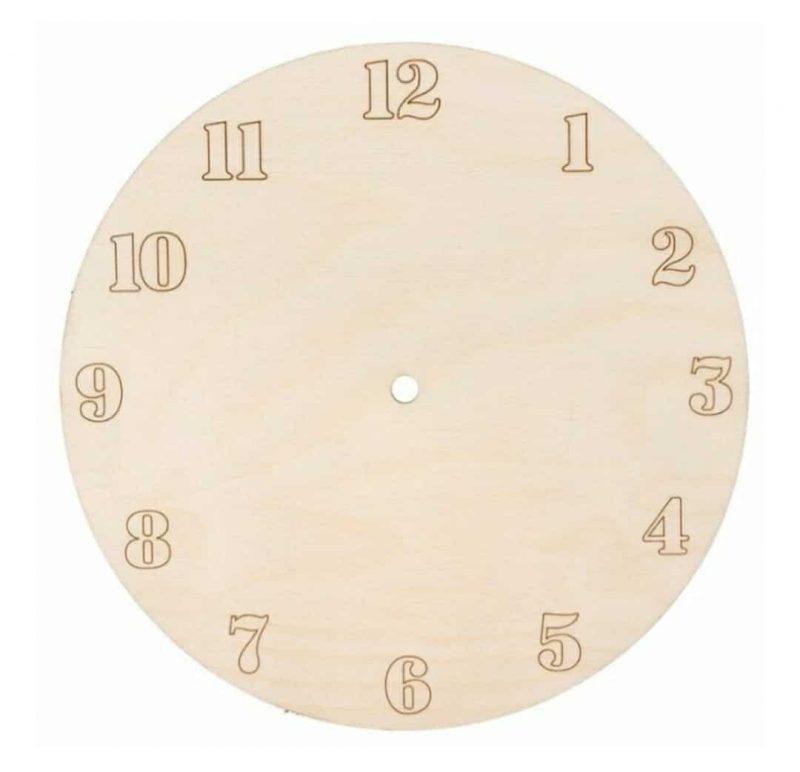 blank cadran ceas de perete