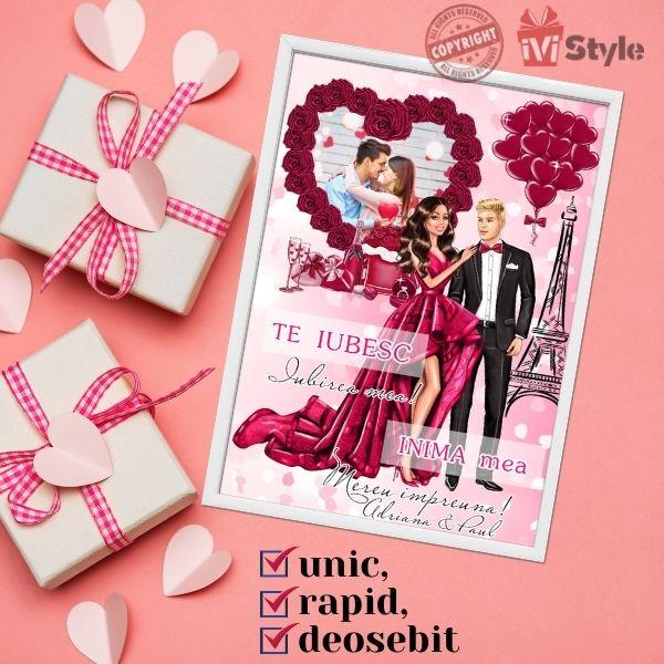 Tablou Valentine's Day Personalizat 01